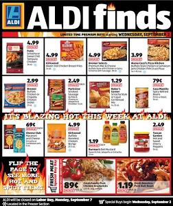 Aldi In Store Ad Specials September 2 September 8 2015