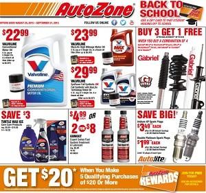 Autozone Weekly Ad Amp Circular Specials