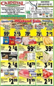 carnival supermarket weekly ad specials