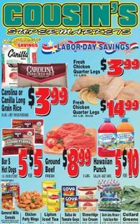 cousin s supermarket weekly ad circular