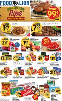Food Lion Weekly Ad Circular Specials