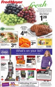 Fred Meyer Weekly Ad, Sale Specials