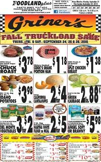 Griner S Supermarket Weekly Ad Amp Circular Specials
