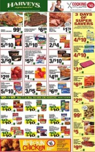 Harveys Supermarket Weekly Specials
