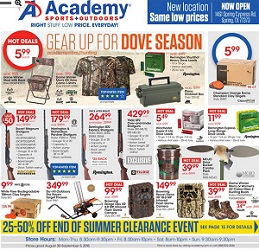 Academy sports weekly ad circular for Academy sports fish finders