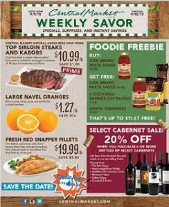 Central Market Weekly Ad Circular