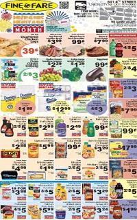 Fine Fare Weekly Ad & Circular Specials