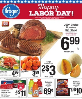 Kroger Weekly Ad 9 2 2015 9 8 2015 Happy Labor Day