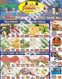 Jimenez Ranch Market Weekly Ad & Circular Specials