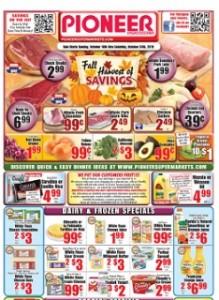 pioneer supermarket ad flyer specials
