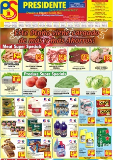 presidente supermarket weekly ad promotions