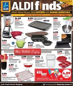 Aldi In Store Ad Specials October 21 October 27 2015