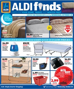 Aldi In Store Ad Specials October 28 November 3 2015