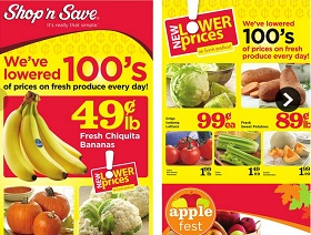 Shop N Save Weekly Ad Amp Flyer Specials