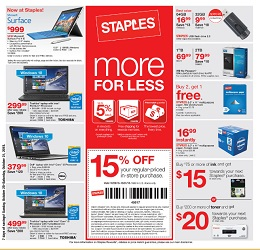 Complete coverage of Staples Weekly Ad, Weekly Circular & Flyer.4/5(15).