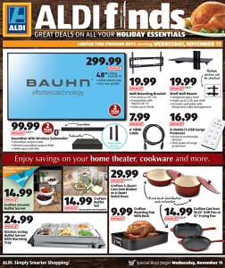 Aldi In Store Ad Specials November 11 November 17 2015