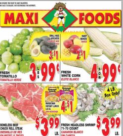 Maxi foods weekly ad flyer specials for Swai fish walmart