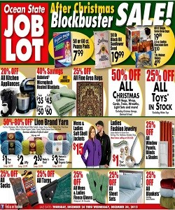 Ocean State Job Lot Weekly Ad Flyer Specials