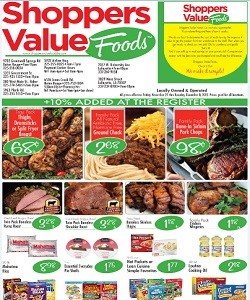 Weekly Sales Circular >> Shoppers Value Foods Weekly Ad