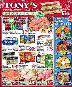 Weekly Sales Circular >> Tony S Finer Foods Weekly Ad Circular