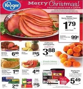Kroger Weekly Ad 12 16 2015 12 24 2015
