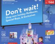 Walmart Ad Deals 12/01/2019 - 12/14/2019
